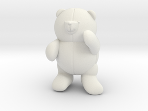 Bear in White Strong & Flexible