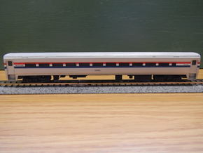 Amtrak Horizon Coach V2 Doors in Smooth Fine Detail Plastic