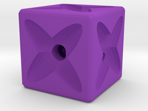 Dice77 in Purple Processed Versatile Plastic