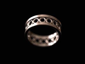 O ring in Platinum