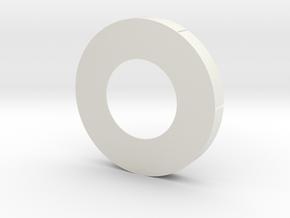Cassini 1/20th Main Dish Base in White Natural Versatile Plastic