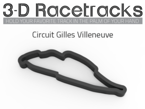 Circuit Gilles Villeneuve in Full Color Sandstone