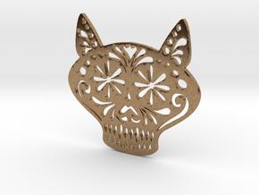 Gato Miron in Natural Brass