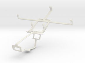 Controller mount for Xbox One & Xolo Q1000 in White Natural Versatile Plastic