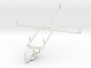 Controller mount for PS3 & ZTE V81 in White Natural Versatile Plastic