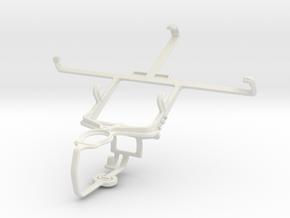 Controller mount for PS3 & ZTE Nubia Z5S mini in White Natural Versatile Plastic
