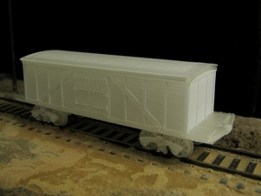 R11 N scale 1840 Winans boxcar, Württemberg in Smooth Fine Detail Plastic