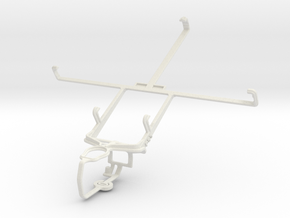 Controller mount for PS3 & Yezz Epic T7 in White Natural Versatile Plastic