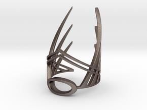 The Winged Crown (Bracelet) in Stainless Steel