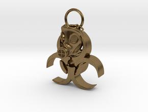 Gasmask in Natural Bronze
