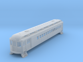 N Scale L&WV Short Steel Combine body shell in Smooth Fine Detail Plastic