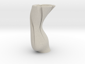 TornadoVase in Natural Sandstone