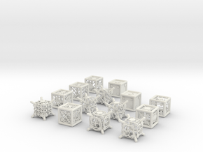 Grid Die All Pack 10 of 13 in White Natural Versatile Plastic
