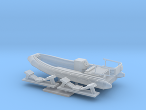 1/96 scale 16.73 feet Rescue RHIB (RIB) in Frosted Ultra Detail