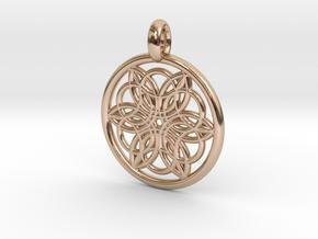 Pasiphae pendant in 14k Rose Gold