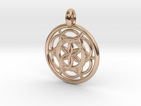 Sinope pendant in 14k Rose Gold