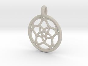 Himalia pendant in Natural Sandstone