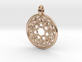 Elara pendant in 14k Rose Gold