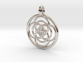 Iocaste pendant in Platinum
