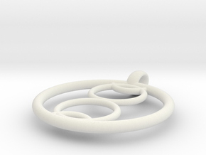 Kalyke pendant in White Natural Versatile Plastic