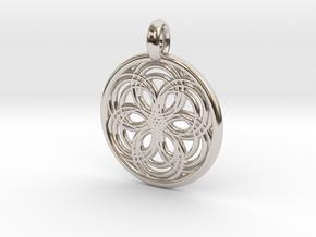 Carme pendant in Platinum