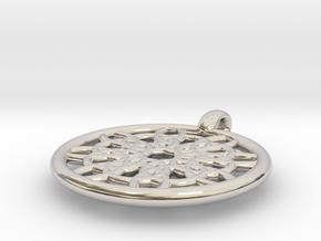Mneme pendant in Platinum