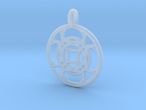 Kallichore pendant in Smooth Fine Detail Plastic