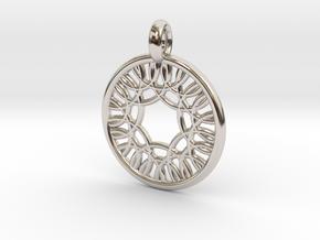 Herse pendant in Platinum