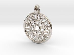 Cyllene pendant in Platinum