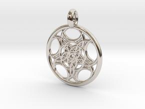 Euanthe pendant in Platinum
