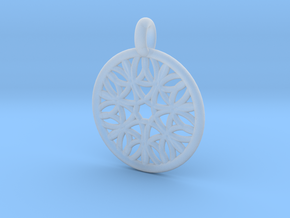 Cyllene pendant in Smooth Fine Detail Plastic