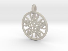 Isonoe pendant in Natural Sandstone