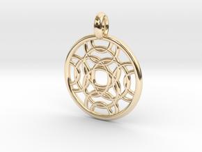 Erinome pendant in 14K Yellow Gold