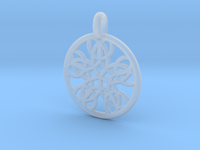 Isonoe pendant in Smooth Fine Detail Plastic