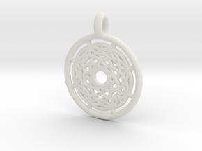 Hermippe pendant in White Natural Versatile Plastic