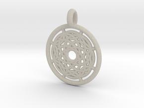 Hermippe pendant in Natural Sandstone
