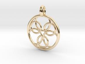 Pasithee pendant in 14K Yellow Gold
