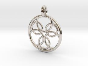 Pasithee pendant in Platinum