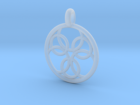 Pasithee pendant in Smooth Fine Detail Plastic