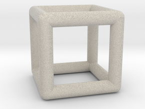Hexahedron (Cube) in Natural Sandstone