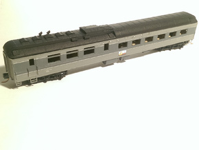 AT&SF Heavyweight Diner Roof (N-Scale) in Frosted Ultra Detail