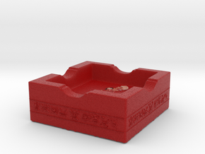 One Piece - Ashtray in Full Color Sandstone