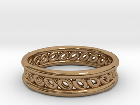GBW6 Wmns Loop Band in Polished Brass