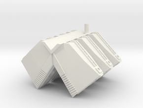 "Somtaaw ""Shaman"" Carrier Support Modules in White Natural Versatile Plastic"