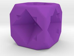 Dice80 in Purple Processed Versatile Plastic