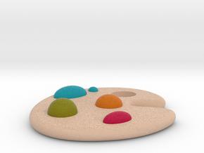 Palette in Full Color Sandstone