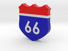 66 Sign in Full Color Sandstone