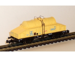 6201 N SNCF HC/Uh Wagon citernes isothermes à lait in Smooth Fine Detail Plastic