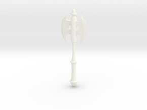 Concept Axe in White Processed Versatile Plastic