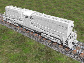 Baldwin RT-624 Center Cab N Scale 1:160  in Frosted Ultra Detail